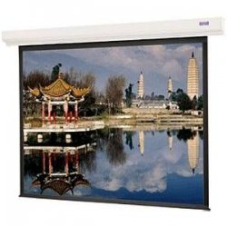 "Da-Lite - 89758 - Da-Lite Designer Contour Electrol Projection Screen - 52"" x 92"" - Matte White - 106"" Diagonal"