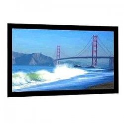 "Da-Lite - 90265 - Da-Lite Cinema Contour Fixed Frame Projection Screen - 72"" x 96"" - High Contrast Cinema Vision - 120"" Diagonal"