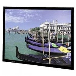 "Da-Lite - 40540 - Da-Lite Perm-Wall Fixed Frame Projection Screen - 41"" x 56"" - Da-Tex - 72"" Diagonal"