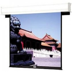 "Da-Lite - 88082 - Da-Lite Advantage Deluxe Electrol Projection Screen - 70"" x 70"" - Matte White - 99"" Diagonal"