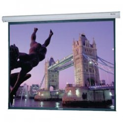 "Da-Lite - 96388 - Da-Lite Cosmopolitan Electrol Projection Screen - 123"" x 164"" - Matte White - 210"" Diagonal"