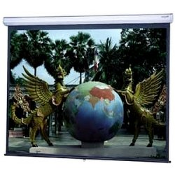 "Da-Lite - 79884 - Da-Lite Model C With CSR Manual Wall and Ceiling Projection Screen - 58"" x 104"" - Matte White - 119"" Diagonal"