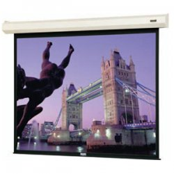 """Da-Lite - 34464L - Da-Lite Cosmopolitan Electrol Projection Screen - Matte White - 130"""" Diagonal"""