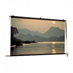 "Da-Lite - 40317 - Da-Lite Scenic Roller Manual Wall and Ceiling Projection Screen - 216"" x 216"" - Matte White - 300"" Diagonal"