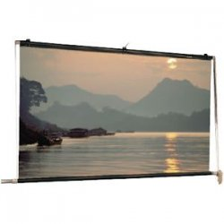 "Da-Lite - 80840 - Da-Lite Motorized Scenic Roller Projection Screen - 216"" x 216"" - Matte White - 305"" Diagonal"