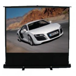 "Elite Screens - F135NWV - Elite Screens F135NWV ezCinema Portable Floor Set Manual Projection Screen (135"" 4:3 Aspect Ratio) (MaxWhite) - MaxWhite - 135"" Diagonal"