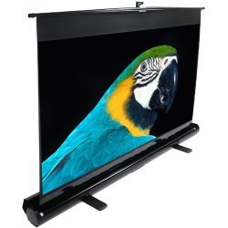 "Elite Screens - F150NWV - Elite Screens F150NWV ezCinema Portable Floor Set Manual Projection Screen (150"" 4:3 Aspect Ratio) (MaxWhite) - 90"" x 120"" - MaxWhite - 150"" Diagonal"