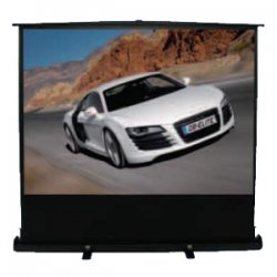 "Elite Screens - F150NWH - Elite Screens F150NWH ezCinema Portable Floor Set Manual Projection Screen (150"" 16:9 Aspect Ratio) (MaxWhite) - 150"" Diagonal"