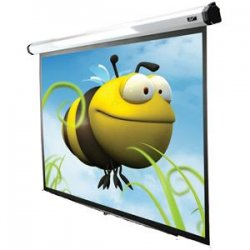 "Elite Screens - HOME150IWS2 - Elite Screens Home150IWS2 Home2 Ceiling/Wall Mount Electric Projection Screen (150"" 1:1 Aspect Ratio) (MaxWhite FG) - 106"" x 106"" - MaxWhite FG - 150"" Diagonal"