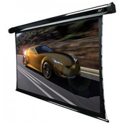 "Elite Screens - TE92HC2 - Elite Screens TE92HC2 CineTension2 Ceiling/Wall Mount Electric Tensioned Projection Screen (92"" 16:9 Aspect Ratio) (CineGrey) - 45"" x 80"" - CineGrey - 92"" Diagonal"
