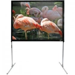 "Elite Screens - Q84VD - Elite Screens Quick Stand Folding Q84VD Portable Projection Screen - 50"" x 67"" - CineWhite - 84"" Diagonal"
