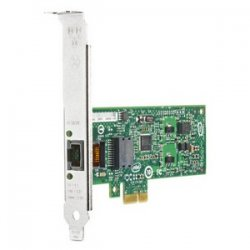 Hewlett Packard (HP) - FH969AA - HP Intel Gigabit Ethernet Card - PCI Express x1 - 1 x RJ-45 - 10/100/1000Base-T - Internal