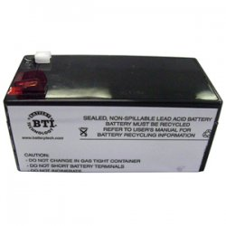 Battery Technology - RBC35-SLA35-BTI - BTI UPS Replacement Battery Cartridge - 3500 mAh - 12 V DC - Lead Acid