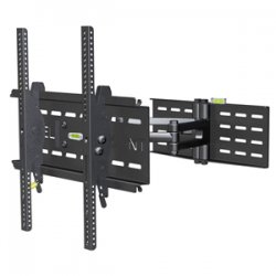 "Elexa - DC65MC - Level Mount DC65MC TV Wall Mount - For TV - 34"" to 65"" Screen Support - 150 lb Load Capacity - Steel - Black"