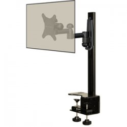 Elexa - DCDSK30DJ - Level Mount DCDSK30DJ Desktop Mount with Full Motion Mount - 60 lb - Black