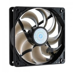 Cooler Master - R4-C2R-20AC-GP - Cooler Master SickleFlow 120 - Sleeve Bearing 120mm Silent Fan for Computer Cases, CPU Coolers, and Radiators (Smoke Color) - Smoke Color, 120x120x25 mm, 2000 RPM, 69 CFM air flow, 19 dBA noise level, 50000 hour life,