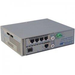 Omnitron - 8824-0-B - Omnitron Systems iConverter 8824-0-B Multiplexer - 4 x T1/E1 , 1 x 100Base-FX - 100Mbps Fast Ethernet, 1.544Mbps T1 , 2.048Mbps E1