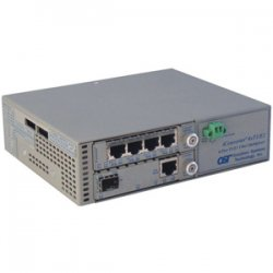 Omnitron - 8826-0-C - Omnitron Systems iConverter 4-Port T1/E1 Multiplexer - 4 x T1/E1 , 1 x 100Base-FX - 100Mbps Fast Ethernet, 1.544Mbps T1 , 2.048Mbps E1
