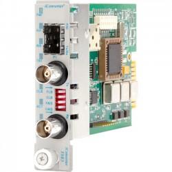 Omnitron - 8759-0 - iConverter T3/E3 Media Converter Coaxial SFP Module - 1 x T3/E3/DS-3; 1 x SFP; Internal Module; Lifetime Warranty