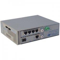 Omnitron - 8831U-1-C - Omnitron Systems iConverter 4-Port T1/E1 Multiplexer - 4 x T1/E1 , 1 x 10/100Base-T , 1 x 100Base-FX - 100Mbps Fast Ethernet, 1.544Mbps T1 , 2.048Mbps E1