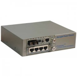 Omnitron - 6750-0-FK - Omnitron Systems iConverter 6750-0-FK Fast Ethernet Media Converter - 5 x RJ-45 , 1 x SC Duplex - 10/100Base-TX, 100Base-FX - External
