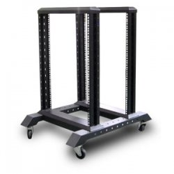 "iStarUSA - WO15AB - iStarUSA WO Series 4-Post Open Frame Rack - 23"" 15U"