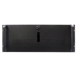 "iStarUSA - E-40 - iStarUSA Military E-40 Rackmount Chassis - Rack-mountable - Black, Black - 4U - 3 x Bay - 1 x Fan(s) Installed - ATX Motherboard Supported - 1 x Fan(s) Supported - 2 x External 5.25"" Bay - 1 x Internal 3.5"" Bay - 2 x USB(s)"