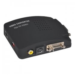 Sabrent - TV-PC85 - Sabrent TV-PC85 PC to TV Converter Box - 1024 x 768 - PAL, NTSC - VGARetail - External