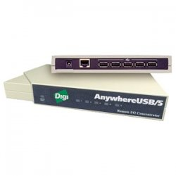 Digi International - AW-USB-2 - Digi AnywhereUSB 2-port USB Hub - 2 x 4-pin Type A Female USB 2.0 Front