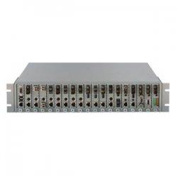 Omnitron - 8201-2-W - Omnitron Systems iConverter 19-Module Chassis