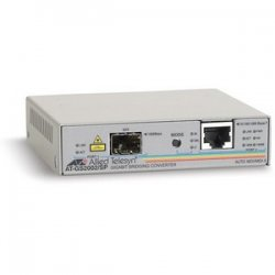 Allied Telesis - AT-GS2002/SP-60 - Allied Telesis AT-GS2002/SP Bridging Media Converter - 1 x RJ-45 - 10/100/1000Base-T, 1000Base-X - 1 x SFP (mini-GBIC) - External