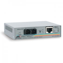 Allied Telesis - AT-FS232/1-60 - Allied Telesis AT-FS232/1 Fast Ethernet Media Converter - 1 x RJ-45 , 1 x SC - 10/100Base-TX, 100Base-FX - External, Wall-mountable, Rack-mountable
