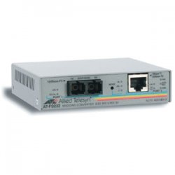 Allied Telesis - AT-FS232/2-60 - Allied Telesis AT-FS232/2 Fast Ethernet Media Converter - 1 x RJ-45 , 1 x SC - 10/100Base-TX, 100Base-FX - External, Rack-mountable, Wall-mountable