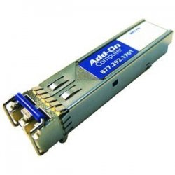 AddOn - JX-SFP-1GE-LX-AOK - AddOn Juniper Networks JX-SFP-1GE-LX Compatible TAA Compliant 1000Base-LX SFP Transceiver (SMF, 1310nm, 10km, LC, DOM) - 100% compatible and guaranteed to work