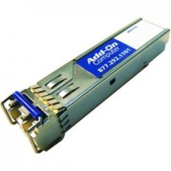 AddOn - MGBIC-02-AOK - AddOn Enterasys MGBIC-02 Compatible TAA Compliant 1000Base-TX SFP Transceiver (Copper, 100m, RJ-45) - 100% application tested and guaranteed compatible