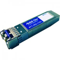 AddOn - SFP-10G-SR-AO - AddOn Cisco SFP-10G-SR Compatible TAA Compliant 10GBase-SR SFP+ Transceiver (MMF, 850nm, 300m, LC, DOM) - 100% application tested and guaranteed compatible