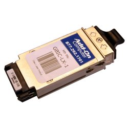 AddOn - AA1419003-E5-AO - AddOn Avaya/Nortel AA1419003-E5 Compatible TAA Compliant 1000Base-ZX GBIC Transceiver (SMF, 1550nm, 80km, SC) - 100% compatible and guaranteed to work