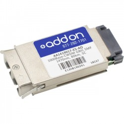 AddOn - AA1419017-E5-AO - AddOn Avaya/Nortel AA1419017-E5 Compatible TAA Compliant 1000Base-CWDM GBIC Transceiver (SMF, 1470nm, 80km, SC) - 100% compatible and guaranteed to work