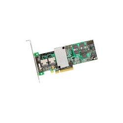 LSI Logic - LSI00198 - LSI Logic MegaRAID 9260-8i 8-Port SAS RAID Controller - 512MB DDR2 SDRAM - PCI Express x8 - 300MBps - 2 x SFF-8087 - Mini-SAS