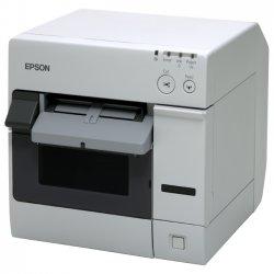 """Epson - C31CA26011 - Epson SecurColor TM-C3400 Inkjet Printer - Color - Desktop - Label Print - 4.09"""" Print Width - 3.70 in/s Color - 720 x 360 dpi - USB - 4.40"""" Label Width"""