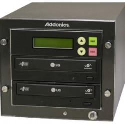 Addonics Technologies - DGC1 - Addonics DGC1 - (1:1 DVD Duplicator) - StandaloneDVD-ROM, DVD-Writer - 24x DVD+R, 24x DVD-R, 8x DVD+R, 8x DVD-R, 48x CD-R - 6x DVD-RW, 8x DVD+RW, 5x DVD-RAM, 24x CD-RW - eSATA, SATA - 48 CD Read/48 CD Write/24 CD Rewrite -