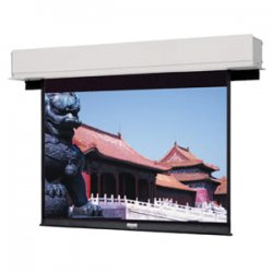 "Da-Lite - 34576 - Da-Lite Advantage Deluxe Electrol Projection Screen - Matte White - 130"" Diagonal"