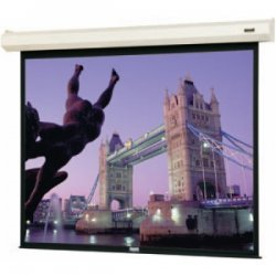 "Da-Lite - 79014L - Da-Lite Cosmopolitan Electrol 79014L Electric Projection Screen - 133"" - 16:9 - Ceiling Mount, Wall Mount - 65"" x 116"" - Matte White"