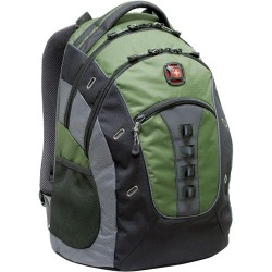 Victorinox / Swiss Army - GA-7335-07F00 - Wenger GRANITE GA-7335-07F00 Carrying Case (Backpack) for 15.6 Notebook - Green - Polyester, Vinyl - 20.8 Height x 2 Width x 14 Depth