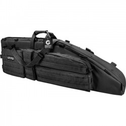 Barska - BI12550 - Barska Loaded Gear BI12550 Carrying Case for Rifle - Black - 600D Ballistic Polyester - Shoulder Strap, Handle - 5 Height x 11.5 Width x 46 Depth