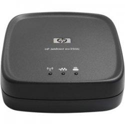 Hewlett Packard (HP) - J8021A#ABM - HP Jetdirect ew2500 Wireless Print Server - Wi-Fi - IEEE 802.11b/g - USB - External