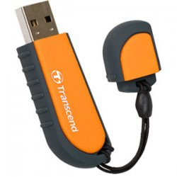 Transcend - TS8GJFV70 - Transcend 8GB JetFlash V70 USB 2.0 Flash Drive - 8 GB - USB 2.0 - Orange