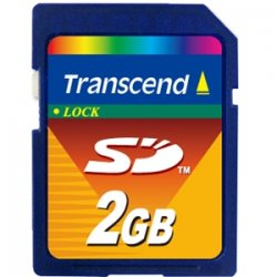 Transcend - TS2GSDC - Transcend 2GB Secure Digital Card - 2 GB