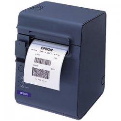 "Epson - C31C412A8811 - Epson TM-L90 Direct Thermal Printer - Monochrome - Desktop - Label Print - 3.50"" Print Width - Peel Facility - 5.91 in/s Mono - 203 x 203 dpi - 4 KB - USB - 3.14"" Label Width"