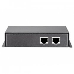 CP Tech / Level One - POR-0100 - LevelOne POR-0100 Indoor 1 Port PoE Repeater - 1 x 10/100Base-TX, 1 x 10/100Base-TX